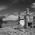 Farmhouse Cottage Ruin Flinders Ranges South Australia by Ralph A  Ledergerber-Photography