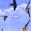 Feathers by Robert M Walker