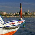 Felucca On The Nile by Michele Burgess