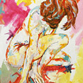 Female Nude Figure Study by Andrew  Orton