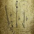 Fender Guitar Patent From 1951 by Chris Smith