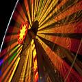 Ferris Wheel At Night by Anthony Totah