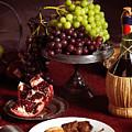 Festive Dinner Still Life by Oleksiy Maksymenko