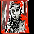 Film Homage Rudolph Valentino The Shiek 1921 Collage Color Added 2008 by David Lee Guss