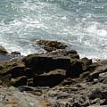 Fine Art Water And Rocks by Jenny Potter
