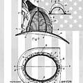 Fireman's Helmet Patent by Dan Sproul