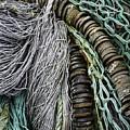 Fish Netting Husavik Iceland 3755 by Bob Neiman