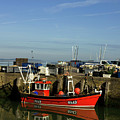 Fishing Boats At Whitstable Harbour 02 by Chris Laurens