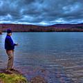 Fishing Limekiln Lake by David Patterson