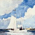 Fishing Schooner by Winslow Homer