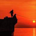 Morning Fishing 1 by Viktor Birkus