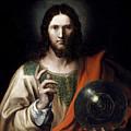 Flemish Salvator Mundi by Flemish Master