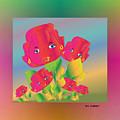 Flower Power by Iris Gelbart
