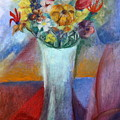 Flowers In Vase Vii by Janna May