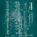 Flute Patent Drawing 2f by Brian Reaves