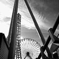Focus On The Ferris Wheel by Rich Despins