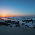 Folly Beach Sunrise by Robert Loe