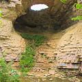 Fonferek Glen Rock Bridge And Falls by Timothy Ruf