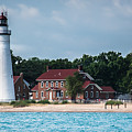 Fort Gratiot Lighthouse by Grace Grogan