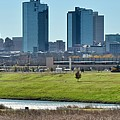 Fort Worth Panorama by Frozen in Time Fine Art Photography