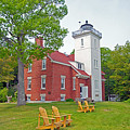 Forty Mile Point Lighthouse by Michael Peychich