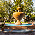 Fountain At Tlaquepaque by Barbara Zahno