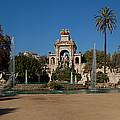 Fountain In A Park, Parc De La by Panoramic Images