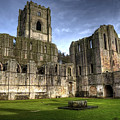 Fountains Abbey 6 by Svetlana Sewell