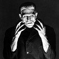 Frankensteins Monster Boris Karloff by R Muirhead Art