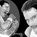 Freddie Mercury by Bill Richards