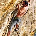 Free Climber by Cristian M Vela