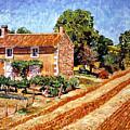 Fresh Cut Hay Provence by David Lloyd Glover