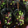 Fresh Harvested Olives And Tunas by Hope