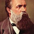 Friedrich Engels by German School