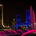Friendship Park Fountain by Dawna Moore Photography