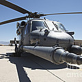 Front View Of A Hh-60g Pave Hawk by Terry Moore