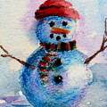 Frosty Aceo by Brenda Thour