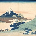Fuji From Inume Pass by Katsushika Hokusai