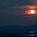 Full Moon Over Acadia IIi by Greg DeBeck