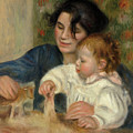 Gabrielle And Jean by Pierre-Auguste Renoir