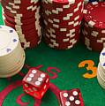 Gambling Dice by Garry Gay