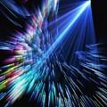 Gamma Ray Burst 2 by Rhonda Martin
