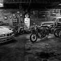 Garage by Hans Wolfgang Muller Leg