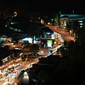 Gatlinburg, Tennessee At Night From The Space Needle by Timothy Wildey