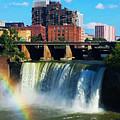 Genesee River Rainbow by Yvonne Scribani