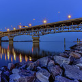George P. Coleman Bridge by Jerry Gammon