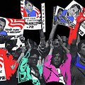 George Wallace For President Supporters Democratic Nat'l Convention Miami Beach Florida 1972-2013 by David Lee Guss