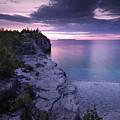 Georgian Bay Cliffs At Sunset by Oleksiy Maksymenko