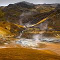 Geothermal Area by Svetlana Sewell