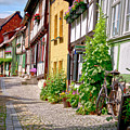 German Old Village Quedlinburg by Heiko Koehrer-Wagner